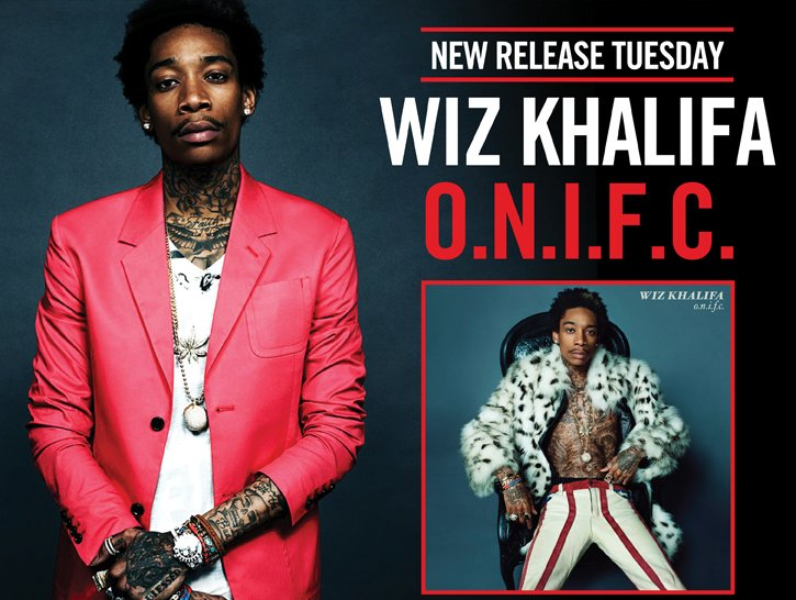 NEW RELEASE TUESDAY - WIZ KHALIFA O.N.I.F.C.