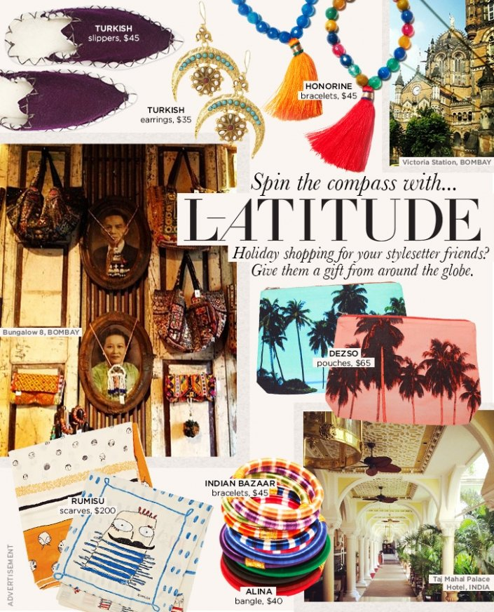 Gift Guide: L-ATITUDE's Global Gifts