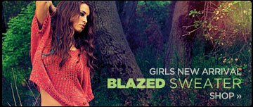 Girls New Arrivals | Blazed Sweater
