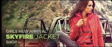 Girls New Arrivals | Skyfire Jacket