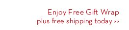 Enjoy Free Gift Wrap plus free shipping today.
