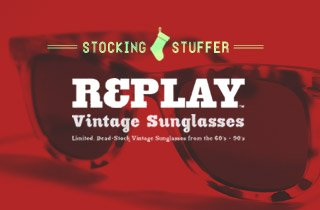 Stocking Stuffer: Replay Vintage