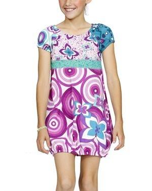 Desigual Multicolor Print Cotton Dress
