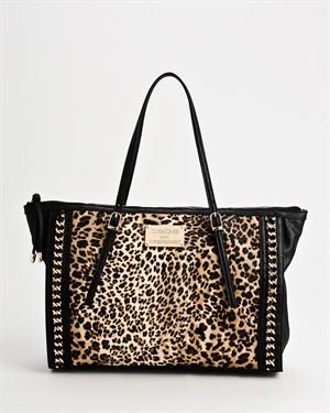 Bebe 2012 Collection Lydia Leopard Tote Bag