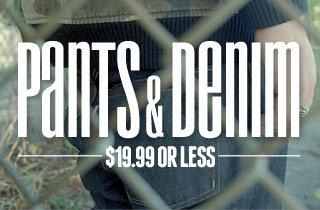 Pants & Denim $19.99 or Less