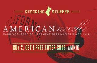 Stocking Stuffer: American Needle Hats