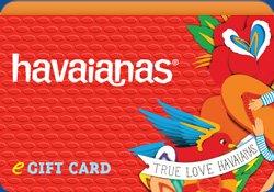 Custom Havaianas Gift Card