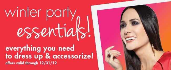 winter party essentials!