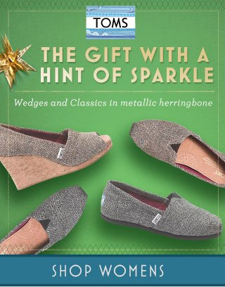 The gift with a hint of sparkle - metallic herringbone