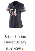 BRIAN URLACHER | LIMITED JERSEY | BUY NOW