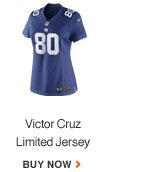 VICTOR CRUZ | LIMITED JERSEY | BUY NOW
