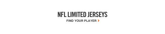 NFL LIMITED JERSEYS | FIND YOUR PLAYER