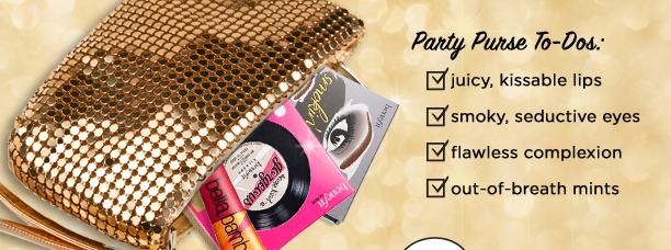 When party prep meets opportunity, you…?