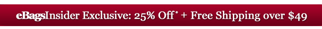 eBagsInsider Exclusive: 20% Off + Everything Ships Free