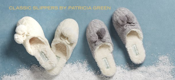 CLASSIC SLIPPERS BY PATRICIA GREEN