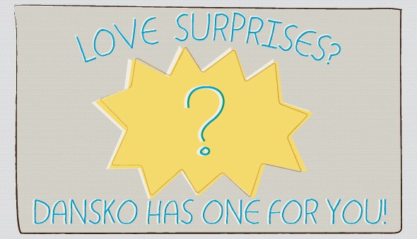 Love surprises? Dansko has one for you.  Click for more details.