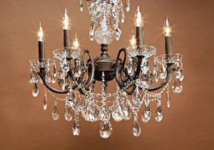 Gold Coast Chandeliers with SPECTRA Crystals