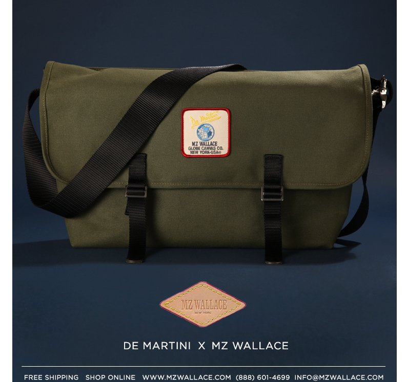 De Martini for MZ Wallace - Shop all gifts for him in the E-Pop.