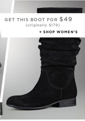 Online Only Today: Get this boot for $49 (originally $179)