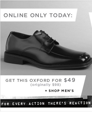 Online Only Today: Get this oxford for $49 (originally $98)