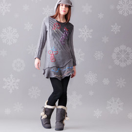 Gorgeous Gray: Apparel, Accents & Shoes