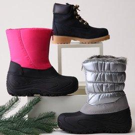 Snowflake Savvy: Kids' Boots