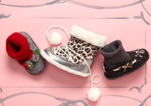TREATS FOR THEIR FEET: LITTLE KIDS' SHOES
