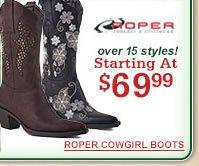 Roper Starting at $69.99