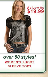 Womens Short Sleeve Tops