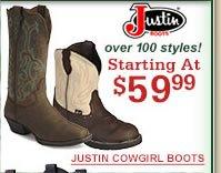 Justin Starting at $59.99
