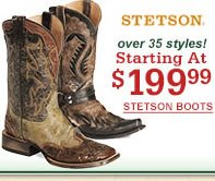 Stetson Starting at $199.99
