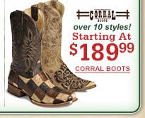 Corral Starting at $189.99