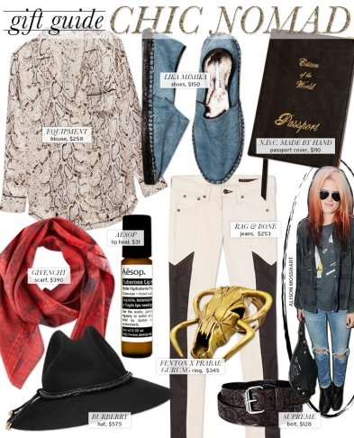 Gift Guide: The Chic Nomad
