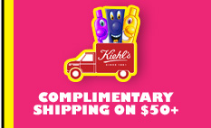 COMPLIMENTARY SHIPPING ON $50+