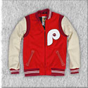 Philadelphia Phillies 1972 Authentic Wool Jacket