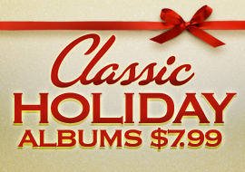 Holiday Albums $7.99