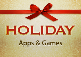 Holiday Apps + Games