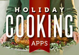 Holiday Cooking Apps