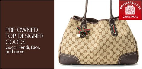 Top designer goods (preowned)