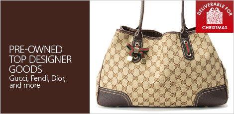 Top designer goods (preowned)