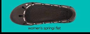 women's springi flat