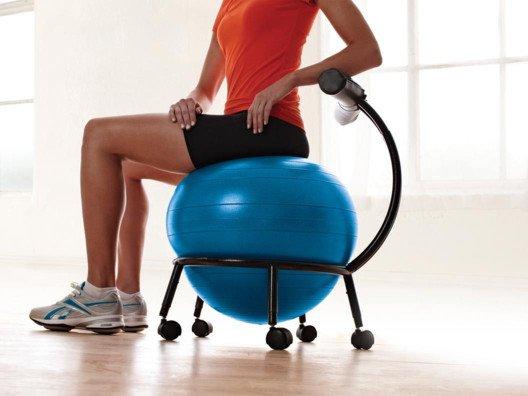 Custom-Fit Balance Ball Chair from Gabrielle Bernstein