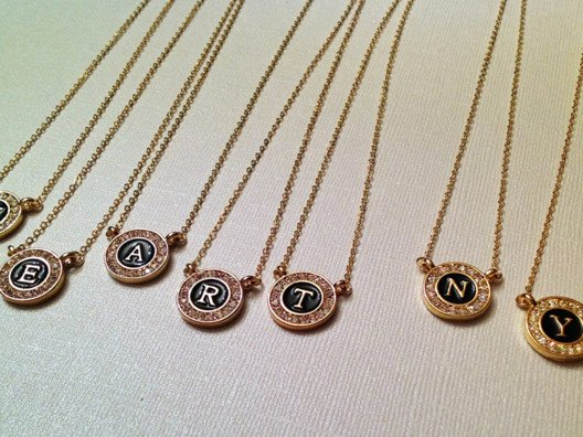 Everyone is into the initial trend, whether you're sporting your own initial, your child's, grandchild's, even your best friend's!