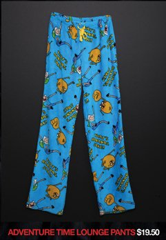ADVENTURE TIME LOUNGE PANTS
