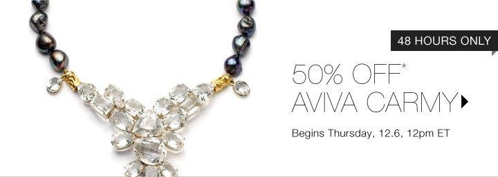 50% Off* Aviva Carmy…Shop Now