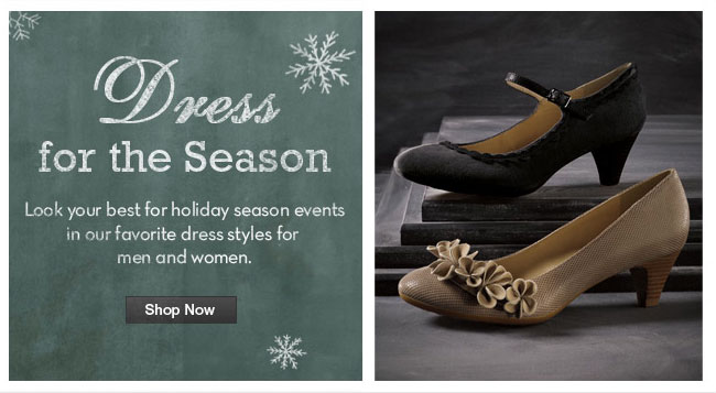 Dress for the Season Shop Now