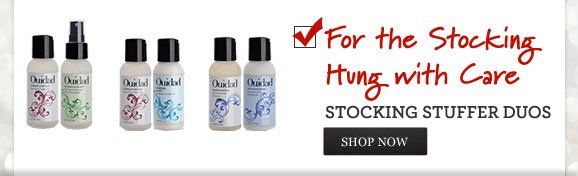 For the Stocking Hung with Care - STOCKING STUFFER DUOS - SHOP NOW