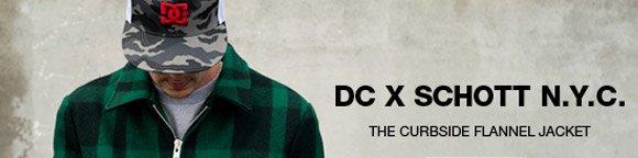 DC X Schott N.Y.C.  The Curbside Flannel Jacket