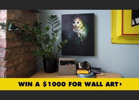 Win $1,000 For Wall Art