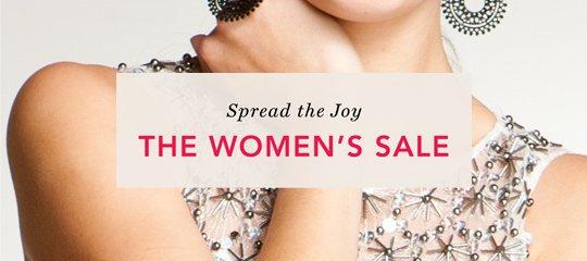 Spread the Joy:The Women's Sale